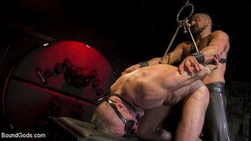 Power Fuck: Hot Leather Men Inflict Muscle Domination & Intense Pain With Marco Napoli & Dale Savage