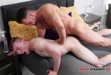 Blaze Austin Sticks His Dick Inside Blake Ellis (Bareback)