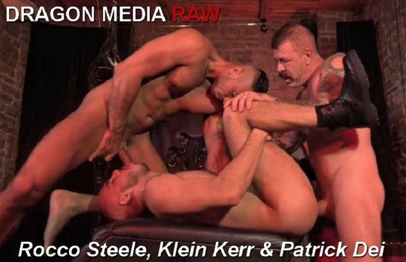 Barcelona Underground, Scene 4: Rocco Steele, Klein Kerr & Patrick Dei RAW