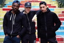 Matteo got fucked when he got home: Etalon, Konan & Matteo (Bareback)