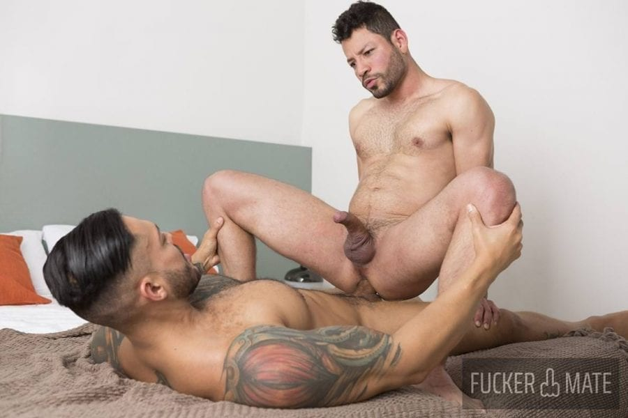 Thirsty for Cock: Viktor Rom & Luciano More (Bareback)