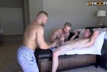 Robbie Valentine, Bryce Beckett and Dustin Hazel