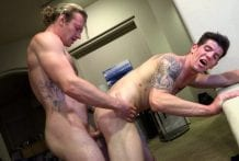 Sage Hardwell Blows His Load All Over Robbie Valentine