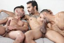 The Chosen: Lucio Saints, Victorio Mendez & Guido Plaza (Bareback)