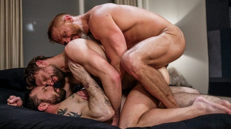 Double Penetration And Daddy Piss With Sergeant Dirk And Drew (Bareback)