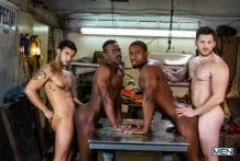 Tom Of Finland, Service Station: River Wilson, Ricky Roman, Matthew Camp & DeAngelo Jackson