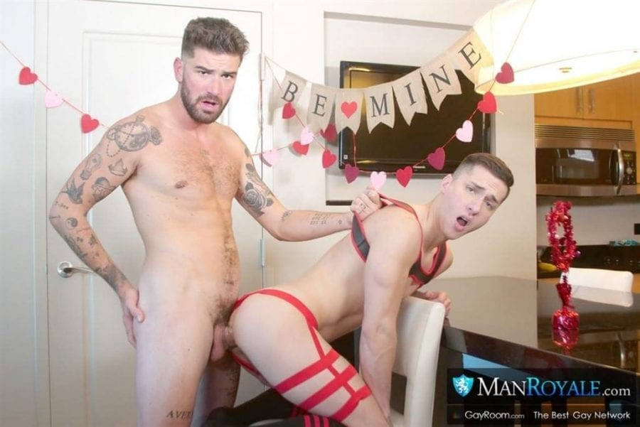 Surprise! It's Valentines Day!: Tristan Hunter & Chris Damned