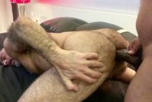Adam Russo Takes Ray Diesel's Big Curved Dick: Part 1 RAW