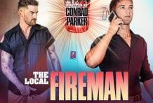 The Local Fireman: Brandon Anderson & Chris Damned (Bareback)