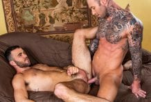 Bust A Nut: Dylan James Slams Alex Mason In The Ass (Bareback)
