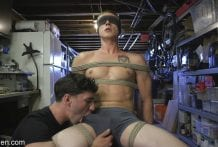 Home Invasion: Straight Boy Captured and Edged