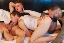 Teach Them Both A Lesson: Markus Kage, Harvey Sid, Manuel Skye & Benjamin Blue (Bareback)