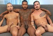 Hot Dirty 3Way BTS: Caio Rodrigues, Pytter Fox & Rick Paixão