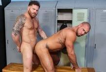 Look At Those Glutes: Michael Roman & Riley Mitchel (Bareback)