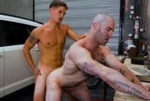 Taking The Prick's Dick: Christian Cayden & Brandon Anderson (Bareback)