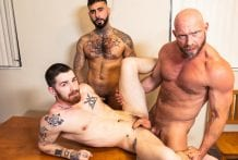 Who's Your Daddy? Part 2: Killian Knox, Nick Milani & Rikk York (Bareback)