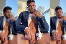Wanna have u on your knees worshipping my dick in my Dubai's balcony!