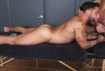 Big Dick Fig, massage time with Brock Banks, Part 1