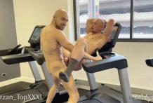 Fuck in the Gym: Travis Dyson & Palmer