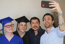 Twinks Graduation Celebration: Sid, Rocky Vallart, Marco Bianchi and Beau Reed (Bareback)