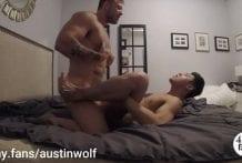 Austin Wolf fucks Jaesyun (Bareback)