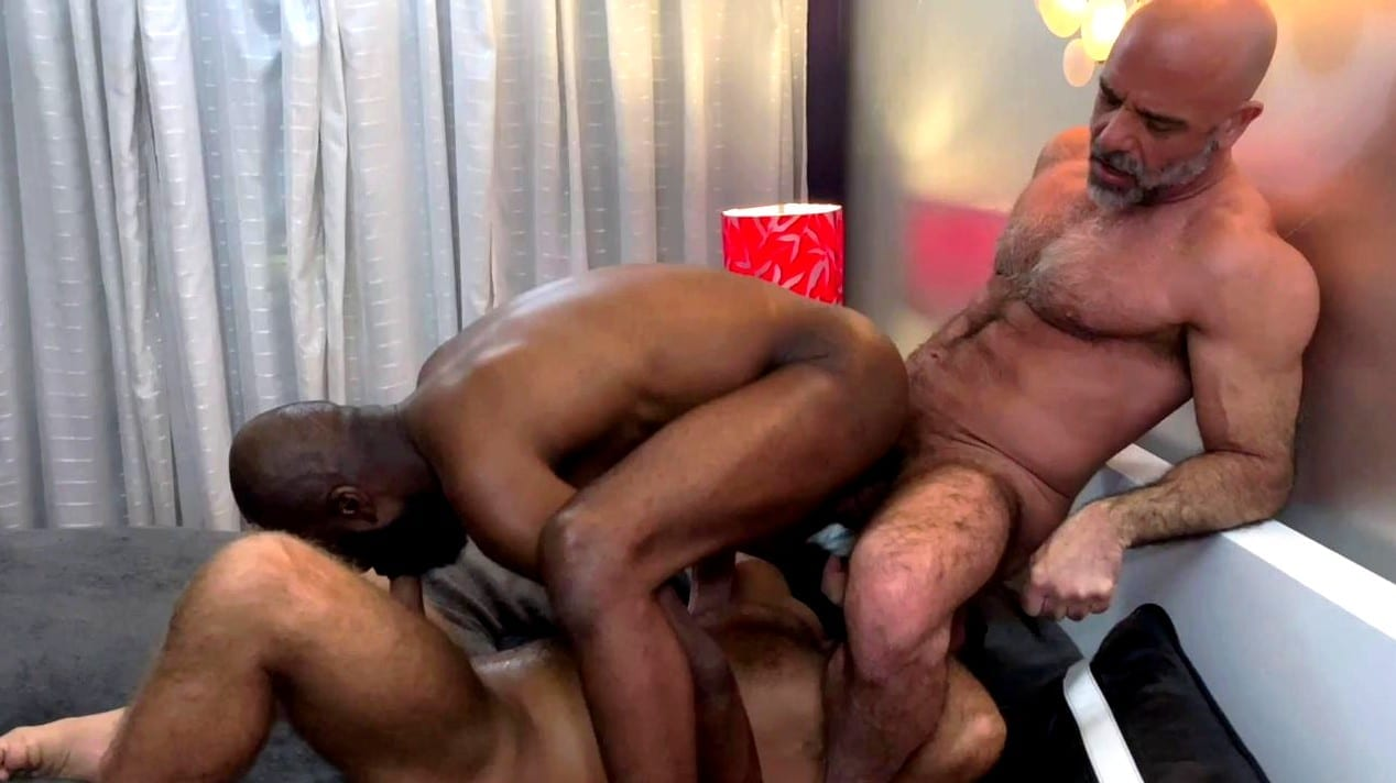 Adam Russo And Jack Andy Breed Jai Sean, Part 1 (Bareback)