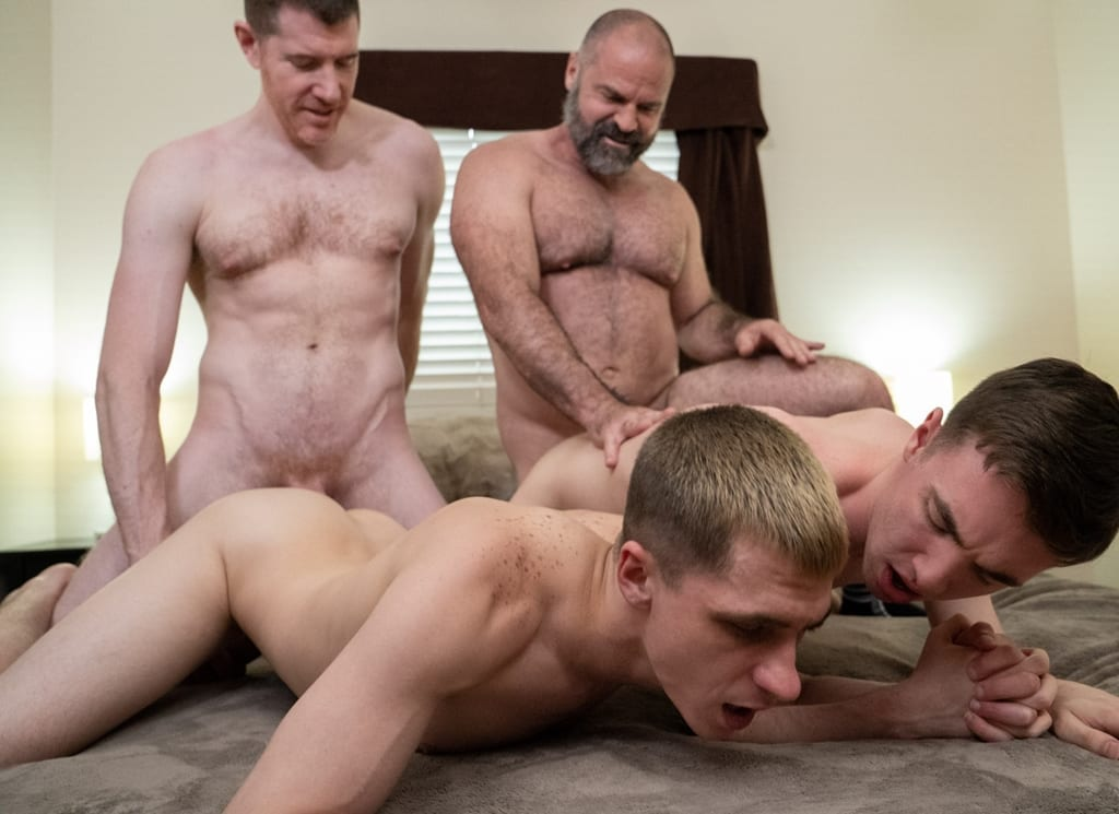 Coming Of Age Tape #2: Mr. Angus & His Boy Marcus, Son Swap (Bareback)