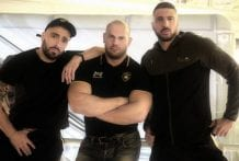 Tourist lost in Paris finds 2 cocks: Dimitri Venum, Marco Napoli & Mathieu Ferhati (Bareback)