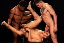 Mind Fuck, Scene #06: Adrian Hart, Cazden Hunter & Clark Davis (Bareback)