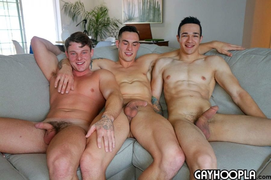 EVERYONE Gets FUCKED. Jayen, Price and Travis all pile on and not a hole doesn't get FILLED!: Jayden Marcos, Price Hogan & Travis Youth