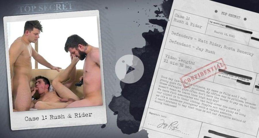 Season 2, Case 1: Rush & Rider (Bareback)