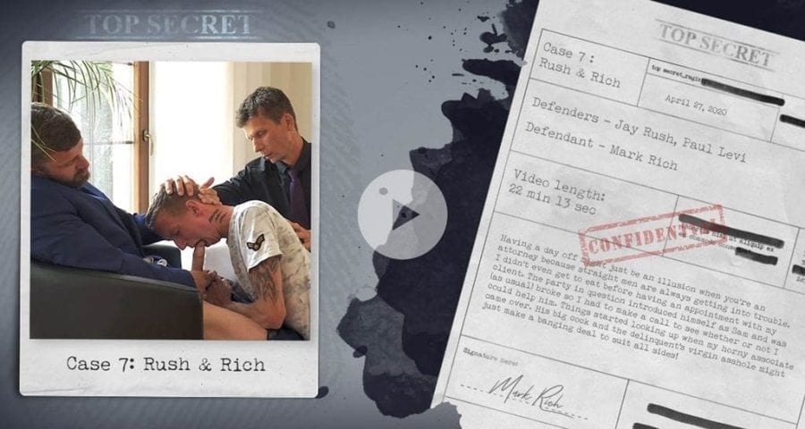 Season 2, Case 7: Rush & Rich (Bareback)