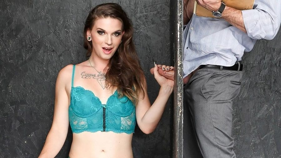 Transsexual Glory Holes: Lance Hart & Jenna Creed