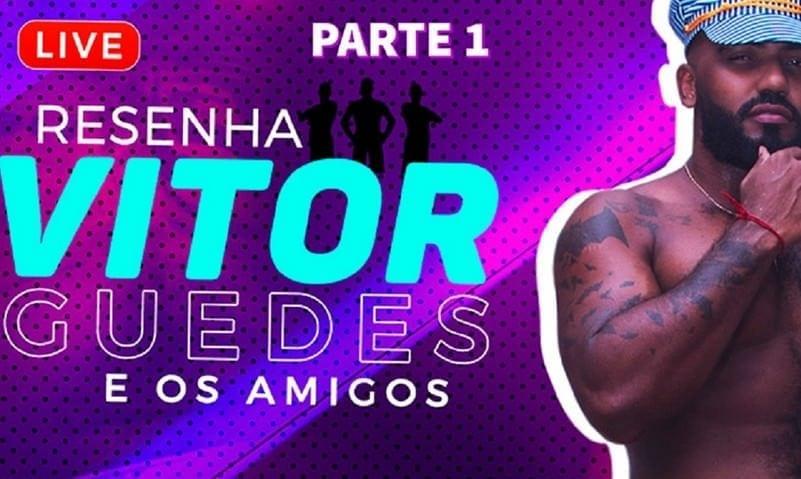 LIVE Resenha do Vitor Guedes e amigos, Parte 1 (Bareback)