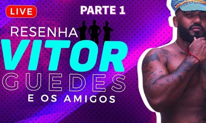 LIVE Resenha do Vitor Guedes e amigos, Gravação Parte 1 (Bareback)