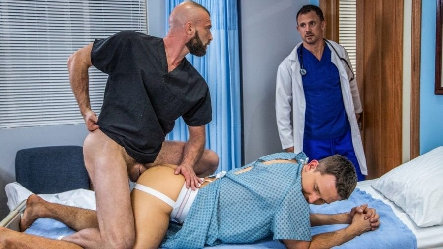The Doctor Is In Me #02, Bedside Manner: Andrew Day, Jesse Zeppelin & Donnie Argento (Bareback)