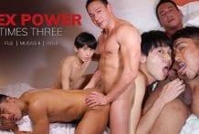 Sex Power Times Three: Fuji, Musashi & Ryuji