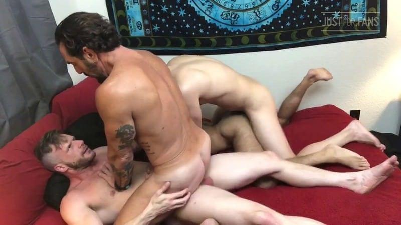 Jake Nicola, Vince Parker, Brian Bonds & Mason Lear (Bareback)