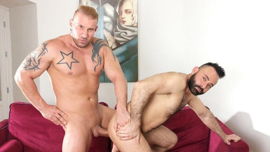 Casting Couch #432: Jony Blond & Leonardo Lucatto (Bareback)