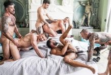 Ass-Hammering Hardware Fire Island Orgy, Part 02 (Bareback)
