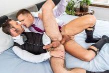 Drake Rogers Rides Andrey Vic's Fat Cock (Bareback)