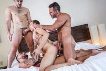 Fucked To The Max: Ethan Chase, Jeffrey Lloyd, Manuel Skye & Max Arion (Bareback)