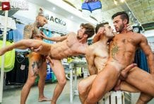 Fucking Show-Offs: Andy Star, Drew Dixon, Dylan James & Max Arion (Bareback)