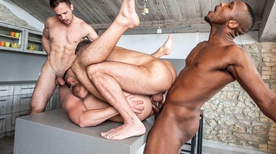 Manuel Skye and Andre Donovan Dominate Jackson Radiz and Drake Rogers (Bareback)