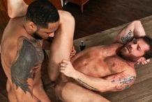 Loaded, Muscle Fuck!, Scene #02: Riley Mitchel & Jaxx Maxim (Bareback)