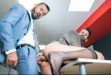 Office Voyeur: Dani Robles & Thomas Thunder
