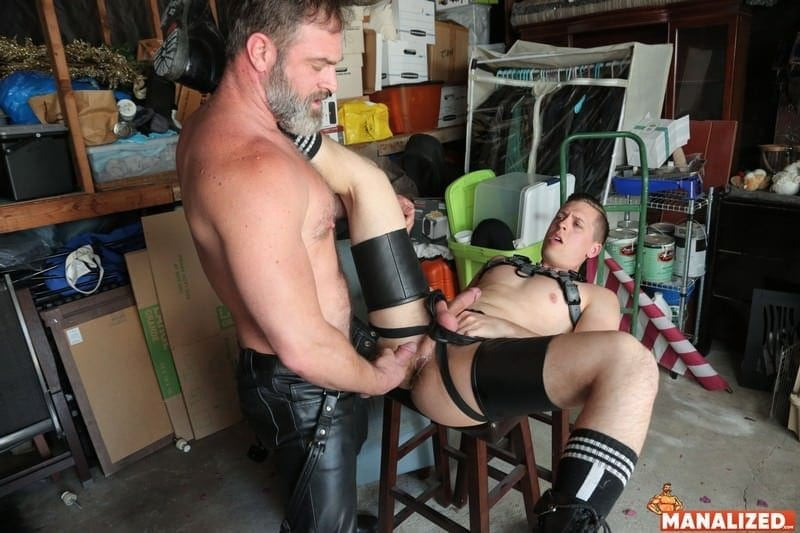 Leather Heat: Kristopher Weston & Tyler Rush (Bareback)