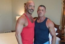 Big Dicked Muscle Daddies: Tyler Saint & Ace Banner (Bareback)