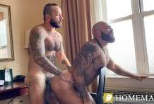 Fill My Hairy Hole Daddy!: Atlas Grant & Julian Torres (Bareback)
