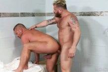 Sauna Beef: Riley Mitchel & Jacob Woods (Bareback)